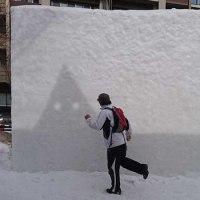 PPAP Snow sculpture