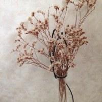 蹄鉄を使って花入れを作る