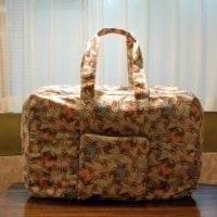 たっぷり入ります!たためるボストンバッグ! @nara_mise