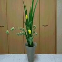 生け花 三彩花