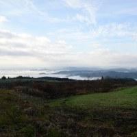 早朝の瀬の本高原です