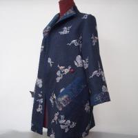 紬の着物からジャケット(オーダー)