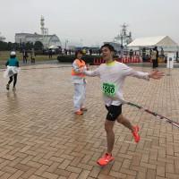先週のマラソン大会の写真を公開します