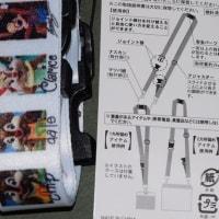 2772  (・´`(◆)   ディズニーギャラリー 「イマジニング・ザ・マジック」  2wayストラップ