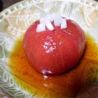 作って食べてみた♪:トマトの酢漬け(孤独のグルメより)