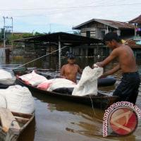 Rokan Huluで洪水により家屋700軒が水没  リアウ諸島、インドネシア