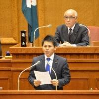 県議会が閉会。共謀罪許すなの討論