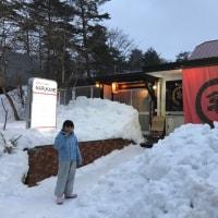 【ヤッホホーと娘担いでスキー場へ go to 栂池高原スキー場】