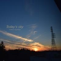 きれい集めの宝箱 ~11月のToday's sky~