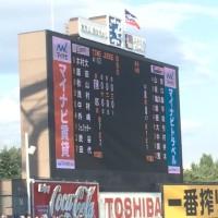 6/3,4 暑かった@神宮 L11-2Ys L8-8Ys