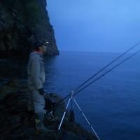 釣りフェスタ2017          今回はサポート役で参加(^^)       増毛赤岩岬のデカアブを求めて
