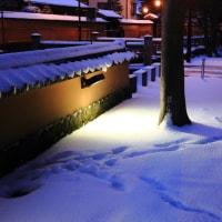 金沢市 武家屋敷街の雪景色