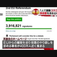 英EU離脱署名 1人で3万3000回…英で再投票求める署名に大規模不正