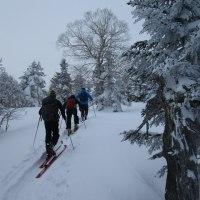 スキーツアー 四阿山方面 3月中旬