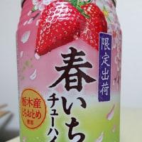 お酒:サントリーチューハイ -196℃〈春いちご〉