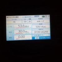 今日は、広島県東広島市へ地デジ屋根裏受信アンテナ工事にお伺いしました~(^^♪