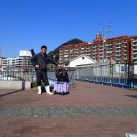 関門でアラカブ釣り(2017/2/19)