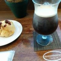 グリーンベリーズコーヒーさんでニトロコーヒー