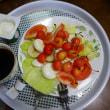 今日の朝食 今サクランボ美味しいですね(´∀`*)
