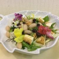 豆ジュレサラダ