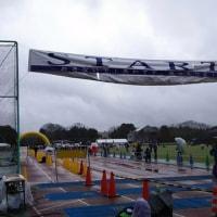 雨のフルマラソン☆