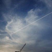 私の飛行機雲