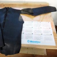 ウェットスーツの補修