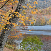思い出の写真 ⑨ 「幻の湖」