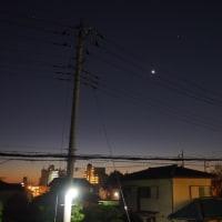 16/11/26  昨夜から大忙し…。プリンターの入れ替えにお月見に冬支度…。(≧∇≦)