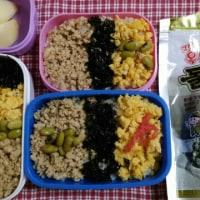今日のお弁当&韓国海苔