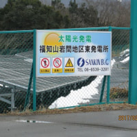 岩間東発電所  4000枚以上で大きいよ