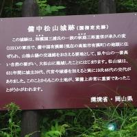 備中松山城への遊歩道