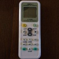 I bought a remote control.
