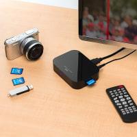 サンワサプライ株式会社がPC不要で動画や写真をテレビで再生できるメディアプレーヤーを発売
