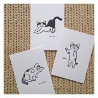 ミャーゴのポストカードとコロマス