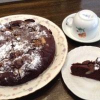 安曇野の宿から・バレンタインデーのケーキ