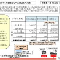 ゆめ街道予算運営業者決まらないまま、7500万円から1億円に増加!