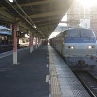 EF66-101号機@吹上駅