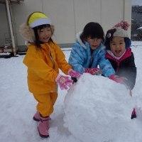 益田にも雪がフッターーーーーー(^▽^)/
