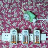 乾電池から充電池へ