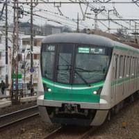 2017年1月19日 小田急 柿生 東京メトロ 16009F  準急