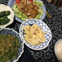 ブタ生姜焼き