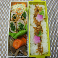 【お弁当】小松菜のポーク巻き