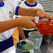 7月10日 富士岡小学校で、日本茶教室