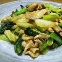 白菜と豚バラ肉の中華炒め(^◇^)
