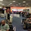 空港で足止め