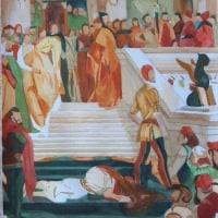 水彩模写「総督マリノ・ファリエロの処刑」
