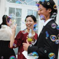 夏舞徒代表 慎ちゃん藍ちゃん 結婚式!!