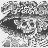 「死者の日」だ骸骨ちゃんだ「カトリーナ」 30日はラバンデリアと