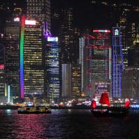 香港ヴィクトリア・ハーバーの夜景 5